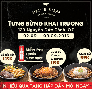 Sizzlin' Steak Vietnam - Quận 7