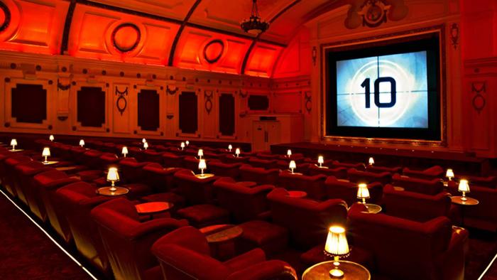 Electric Cinema ở Notting Hill, London ghi điểm với phong cách sang trọng, quý tộc.