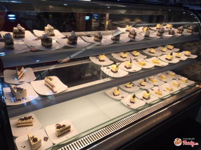 Buffet dưới 100k - Buffet bánh ngọt Labonita