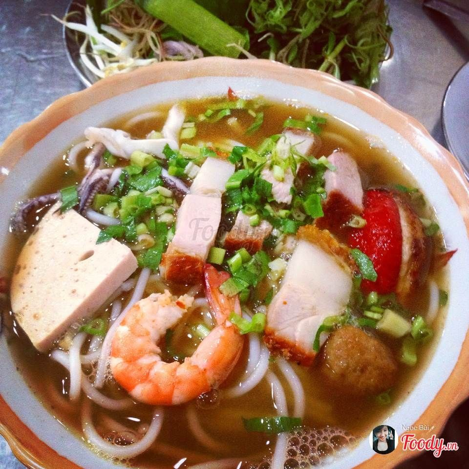 Bún mắm Lê Quang Sung