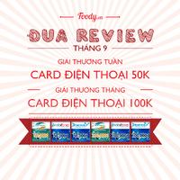 Đua Review Tháng 9 - Nhận Card Điện Thoại Liền Tay
