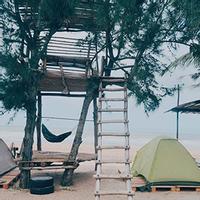 Trải nghiệm ngủ lều trên bãi biển thơ mộng nhất Vịnh Bắc Bộ tại Coco Beachcamp, Lagi, Bình Thuận