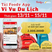 Tặng Vé Máy Bay 2 Triệu Đồng Khi Tải App Foody