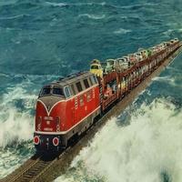 Tàu Hỏa chạy xuyên biển ở châu ÂU