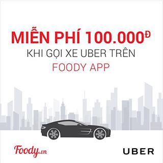 Uber chính thức hợp tác sâu rộng với Foody