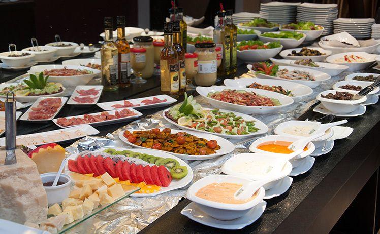 Buffet ngon s i g n ph n 1 buffet cao c p for Samba buffet