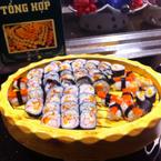 Đến lúc no kềnh thì sushi mới đầy đủ dư vầy :(((((