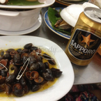 Ốc dừa xào bơ@[#SapporoPremiumBeer](0:188774)