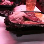 beefsteak cá ngừ trứng opla