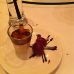 Dessert: mouse chocolate