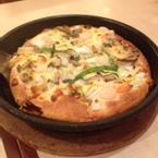 Seafood Pesto Pizza