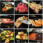 Buffet Sumo Mô tả:  Bao gồm: salad khoai tây, đậu hũ chiên, kim chi bạch tuộc, đậu tương Nhật, cơm cuộn trứng, sushi, bánh xèo Nhật, mì xào Yakisoba v.v Giá: 329.000 VND