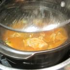 Ăn hết đồ nướng mới đc dọn lẩu thành ra lúc ăn lẩu là no mất tiêu rồi hix
