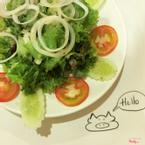 Salad dầu giấm gọi kèm ăn cho đỡ ngán với các món thịt hơi nặng