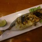 Cá thu Nhật nướng muối