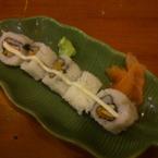 Sushi heo chiên xù