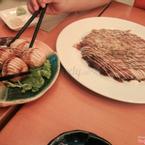 Bánh xèo Nhật & bánh nướng nhân bạch tuộc.