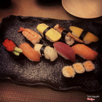 Một set sushi loại nhỏ