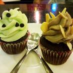 Cupcake mini vị Mint và cookie