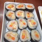 Kimbab kim chi