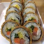 Cơm cuốn tempura