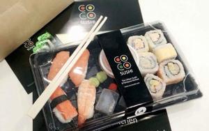 sushi hot khu trung tâm