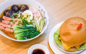 Burger Cá Hồi Đỏ Canada - Phan Xích Long