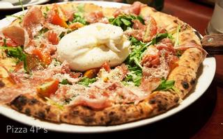 Pizza 4P's - Pizza Kiểu Nhật