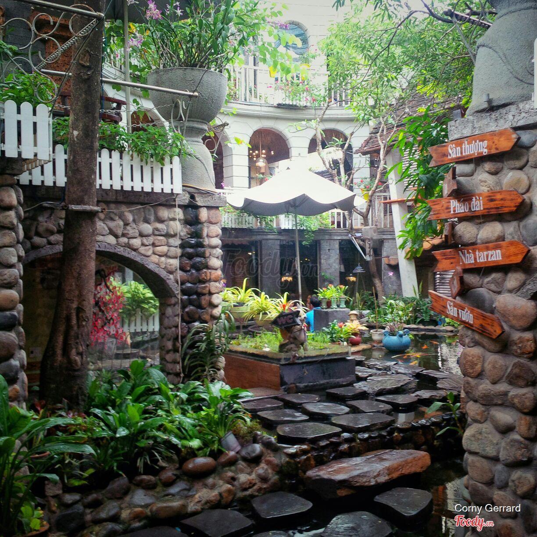 Những quán cafe đẹp ở các quận trung tâm Sài Gòn. Ảnh 34