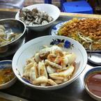 mực, ngao, sò & miến trộn