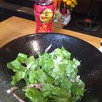 salad thịt muối