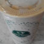 Rich milk coffee