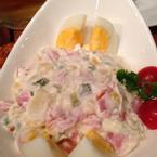 Salad khai vị béo ngạy ăn thích lắm