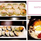Sushi bò, trứng cuộn, cơm trộn Bugolgi
