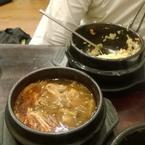 Đây là món súp bò của quán. Ăn cũng được
