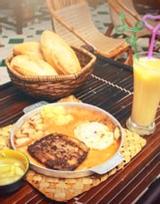 Cột Điện Quán - Bánh Mì Chảo - Nghĩa Tân