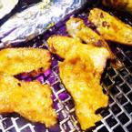 Heo, cá và gà nướng
