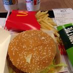 Big Mac với bánh táo