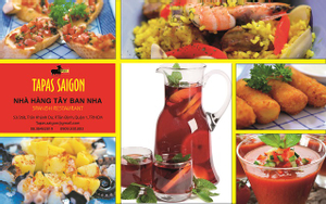 Tapas Sài Gòn - Nhà hàng Tây Ban Nha