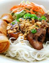 Bún Thịt Nướng Sang - Chợ Nguyễn Tri Phương
