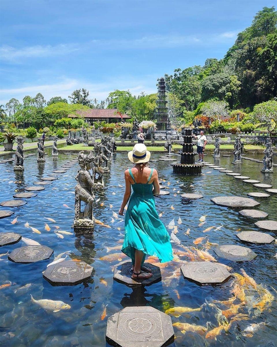 Tirta Gangga Royal Water Garden: Lạc Giữa Khu Vườn Thần Tiên ��� Cung điện Nước đẹp Như Trong