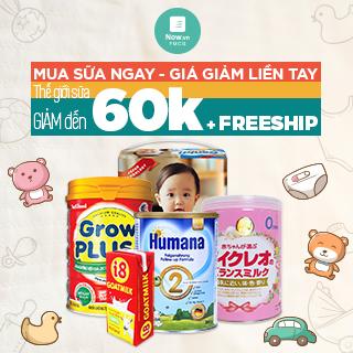 [Không thể bỏ qua] TOP sữa ngon cho con GIẢM tới 60k cho mẹ.