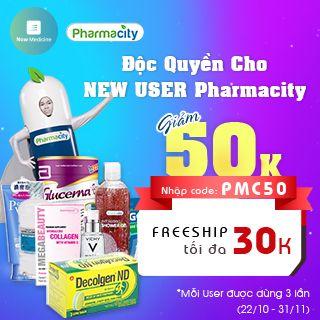 ĐỘC QUYỀN cho NEW USER Pharmacity