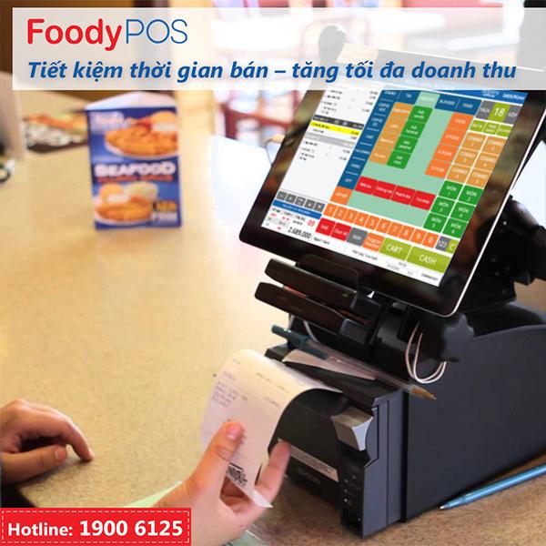 FoodyPOS - Tiết kiệm thời gian bán - Tăng tối đa doanh thu