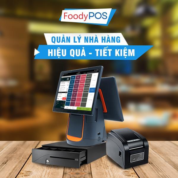 FoodyPOS: Máy bán hàng tốt nhất cho nhà hàng