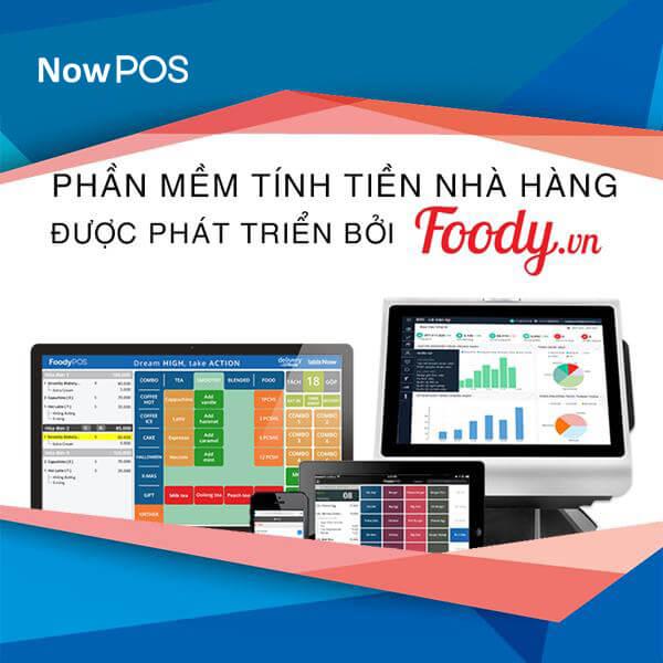 NowPOS: phần mềm tính tiền nhà hàng chuyên nghiệp với giá tiết kiệm