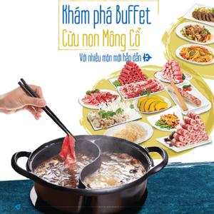 Khám phá Buffet cừu non Mông Cổ