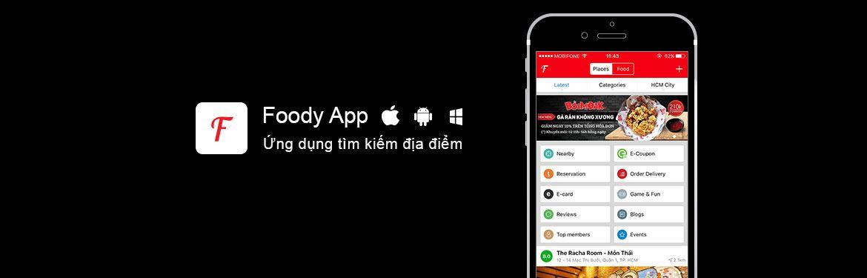 Foody App trên Mobile