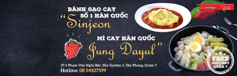 Bánh Gạo Sinjeon - & Mì Cay Dayul