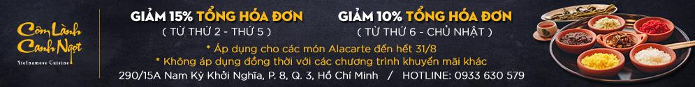Nhà Hàng Cơm Lành Canh Ngọt - Ẩm Thực Việt